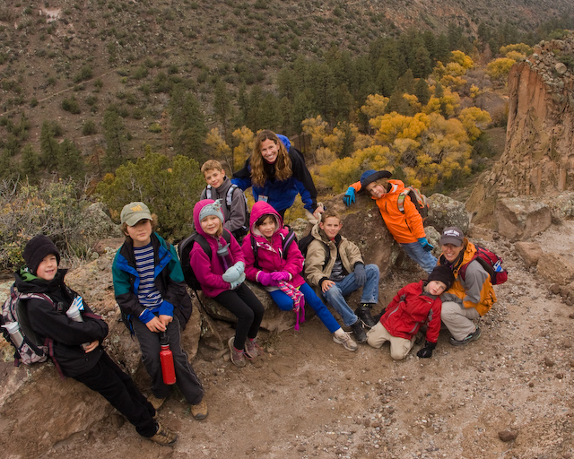 Journey to Bandelier via the Frey Trail!