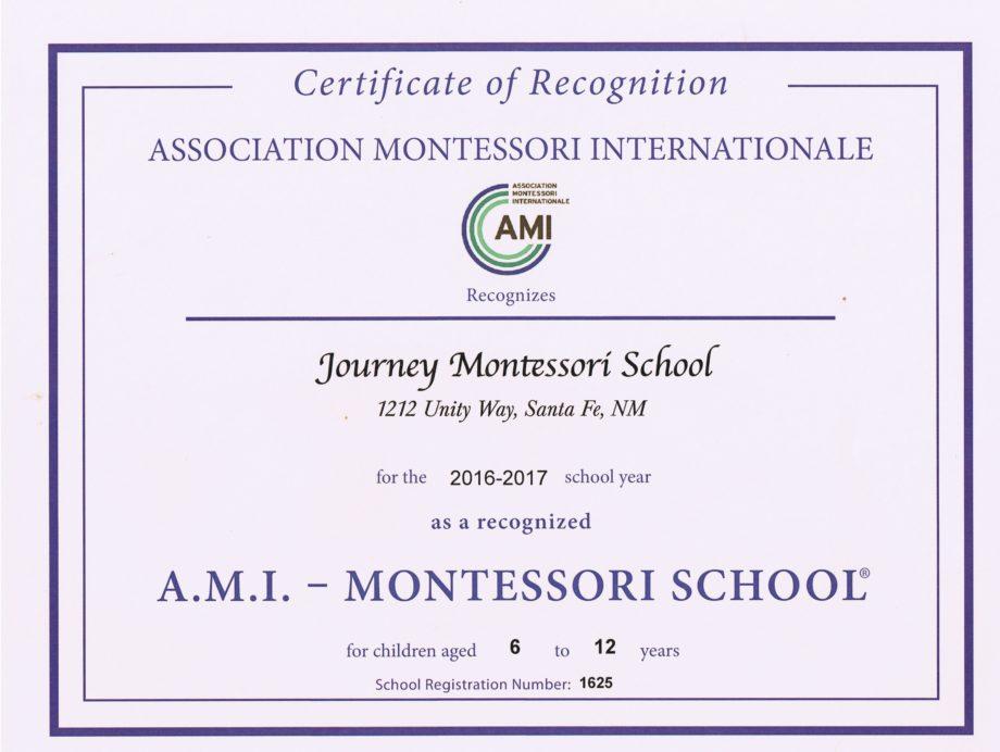 What Is Ami Journey Montessori School